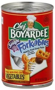Chef Boyardee Pasta Hearty Fork-Size, Sea Life