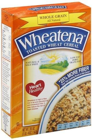 Wheatena Toasted Wheat Cereal - 20 oz