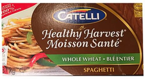 Catelli Brothers Healthy Harvest Whole Wheat Spaghetti - 85 g
