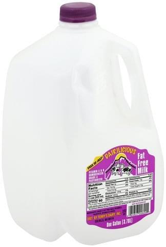 Dairilicous Fat Free Milk - 1 gl
