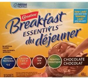 Carnation Breakfast Essentials Chocolate Drink