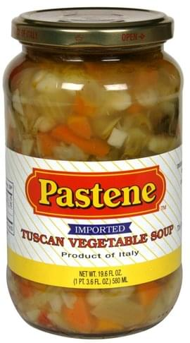 Pastene Tuscan Vegetable Soup - 19.6 oz