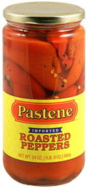 Pastene Roasted Peppers - 24 oz