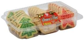 Voortman Festive Treats Cookies 14 1 Oz Nutrition Information Innit
