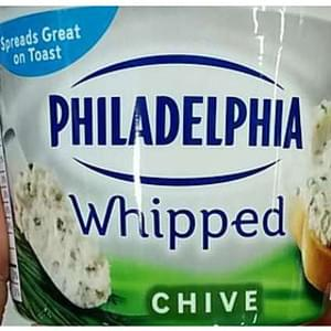 Philadelphia Whipped Cream Cheese Chive