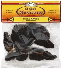 El Club Mexicano Chili Pods Ancho