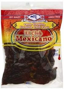 El Club Mexicano Chili Pods Guajillo, Medium Hot