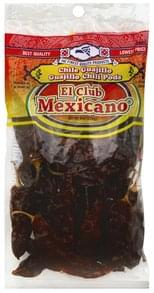 El Club Mexicano Guajillo Chili Pods, Medium Hot