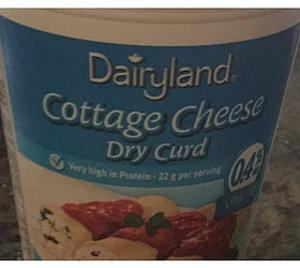 Dairyland Cottage Cheese Dry Curd