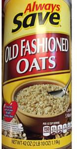 Always Save Old Fashioned Oats
