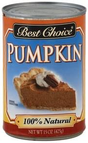 Best Choice Pumpkin