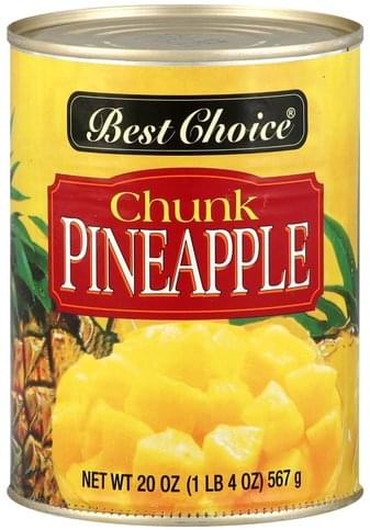 Best Choice Chunk Pineapple - 20 oz
