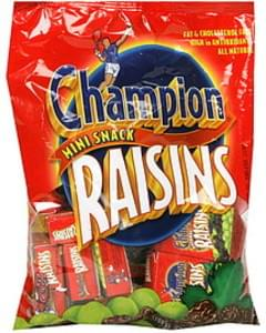 Champion Nutrition Raisins Mini Snack