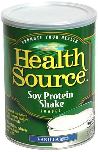 Health Source Vanilla Soy Protein Shake Powder - 9.2 oz