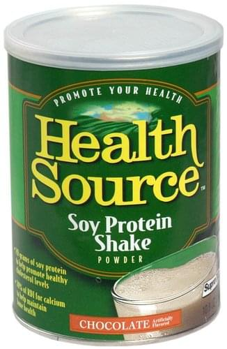 Health Source Chocolate Soy Protein Shake Powder - 10.8 oz