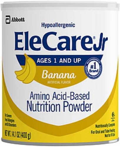 Banana Amino Acid-Based Elecare Jr