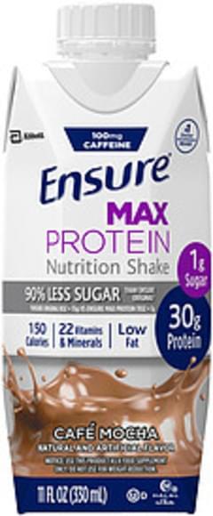 Ensure Ensure Max Protein Café Mocha Nutrition Shake Max Protein Café Mocha