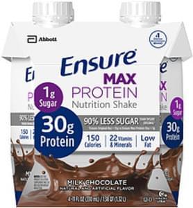 Ensure Ensure Max Protein Milk Chocolate Nutrition Shake Max Protein Milk Chocolate