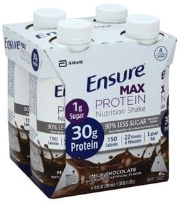 Ensure Nutrition Shake Protein, Milk Chocolate
