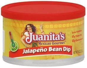 Juanitas Bean Dip Jalapeno, Mild