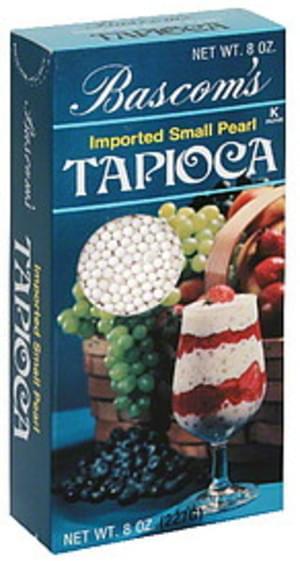 Bascom Imported Small Pearl Tapioca - 8 oz