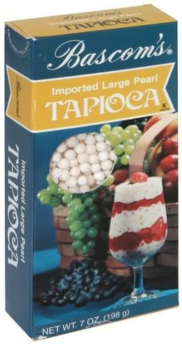 Bascom Imported Large Pearl Tapioca - 7 oz