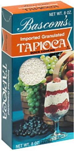 Bascom Tapioca Granulated