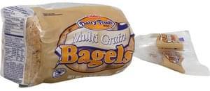 Dairy Fresh Bagels Multi-Grain, Pre-Sliced