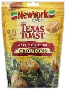 New York Bakery Croutons Garlic & Butter Flavored