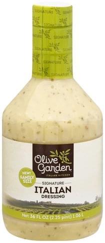 Olive Garden Italian Signature Family Size Dressing 36 Oz