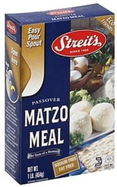 Streits Matzo Meal Passover