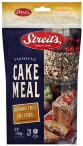 Streits Cake Meal Passover