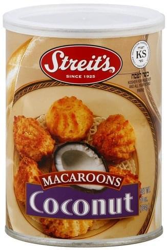 Streits Coconut Macaroons - 10 oz