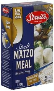 Streits Matzo Meal Spelt