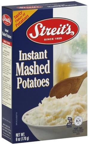 Streits Instant Mashed Potatoes - 6 oz
