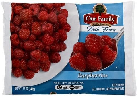 Our Family Raspberries - 12 oz