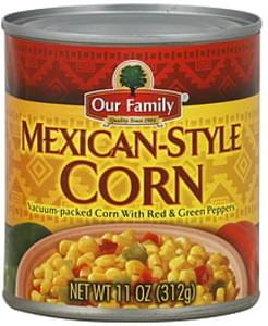 Our Family Corn Mexican-Style