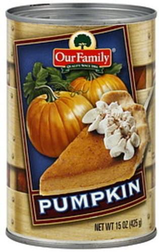 Our Family Pumpkin - 15 oz