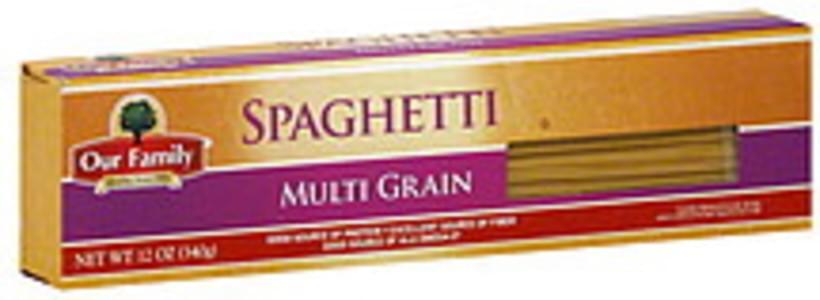 Our Family Spaghetti Multi Grain