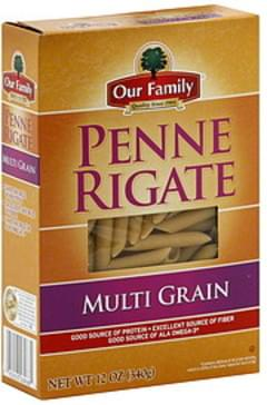 Our Family Penne Rigate Multi Grain