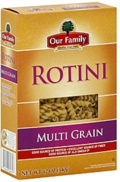 Our Family Rotini Multi Grain