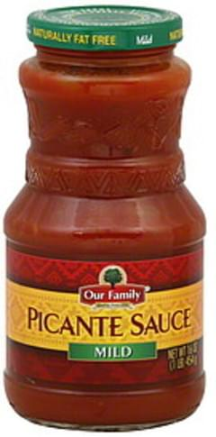 Our Family Picante Sauce Mild