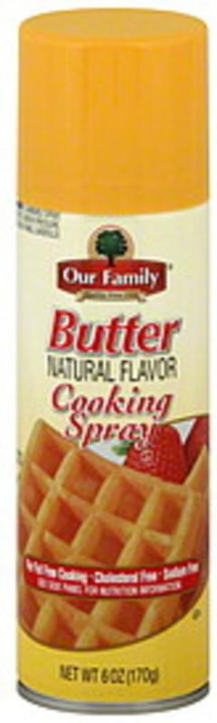 Our Family Cooking Spray Butter