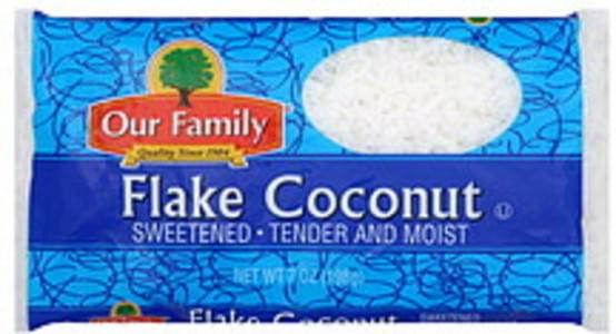 Our Family Flake Coconut Sweetened