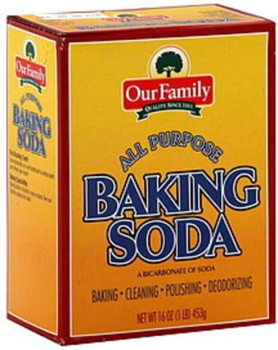 Our Family All Purpose Baking Soda - 16 oz