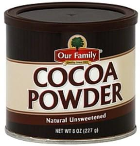 Our Family Cocoa Powder Natural Unsweetened