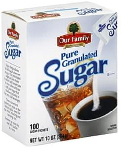 Our Family Pure Granulated Sugar