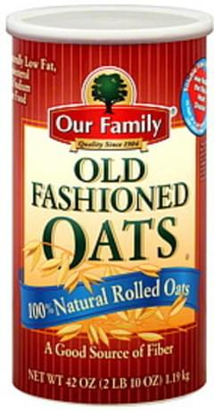 Our Family Oats Old Fashioned