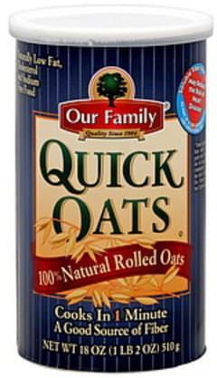 Our Family Quick Oats