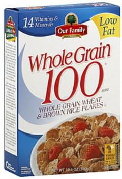 Our Family Cereal Whole Grain 100